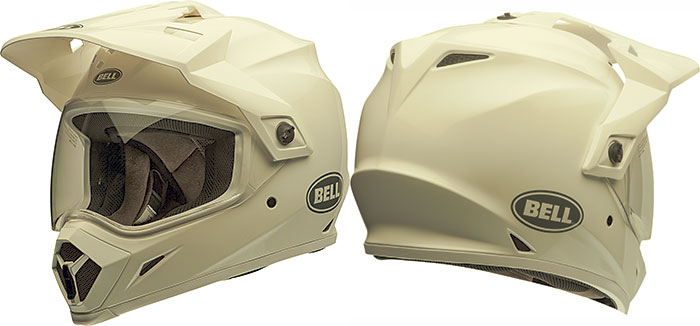 bell mx 9 adventure mips off road helmet gloss white fl