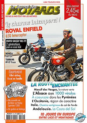 LE JOURNAL DES MOTARDS n°119 – sept/octobre 2019